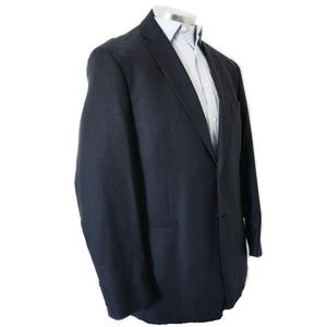 Jos A Bank Shepherd's Check 100% Wool Sports Coat